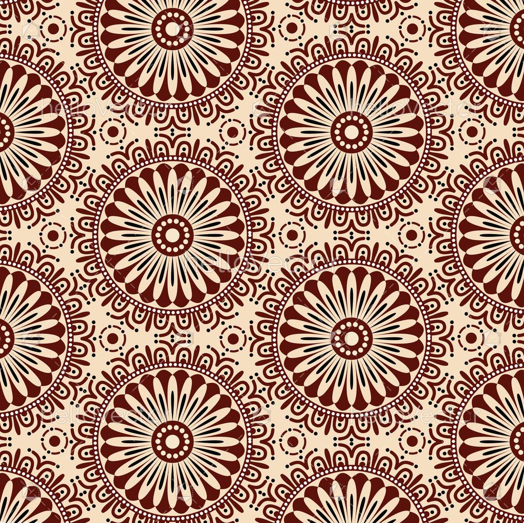 Vector Illustration Web Designs: Seamless Flower Pattern Background. Modern Stylish Texture