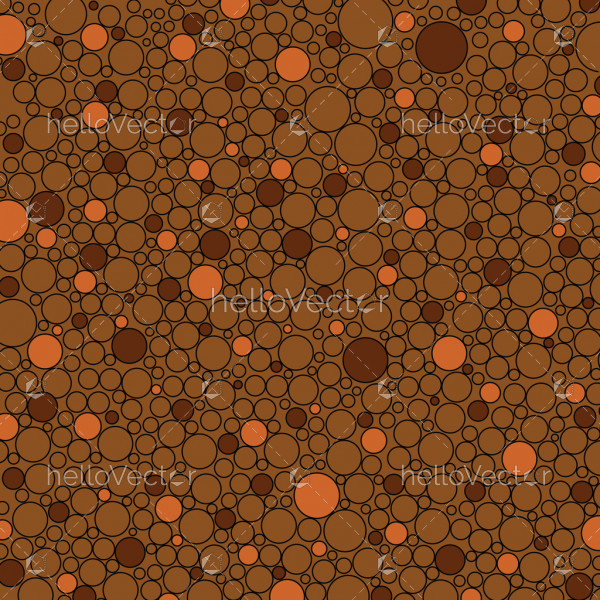 Dot seamless background vector