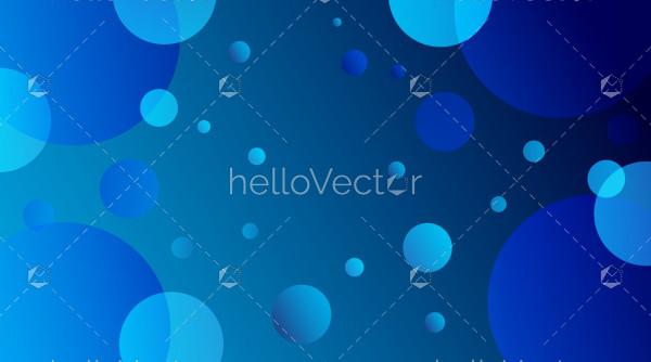 Bokeh effect vector background