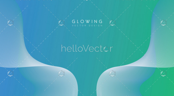 Abstract flow shape vector background.
