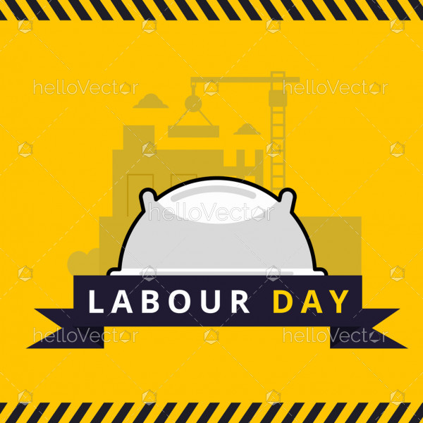 Labor day background - Vector Illustration