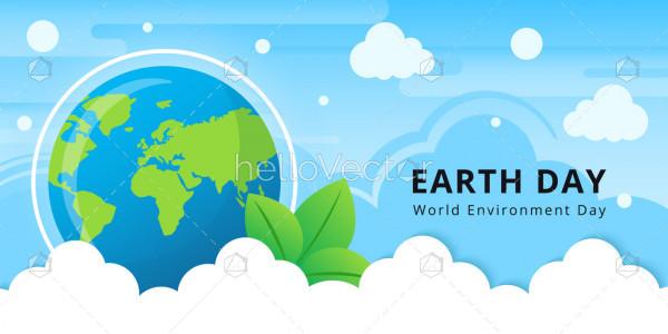 Earth Day - Vector Illustration