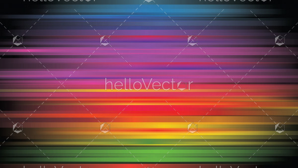 Rainbow colored gradient background
