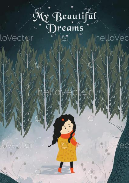 Dream Book Cover Template