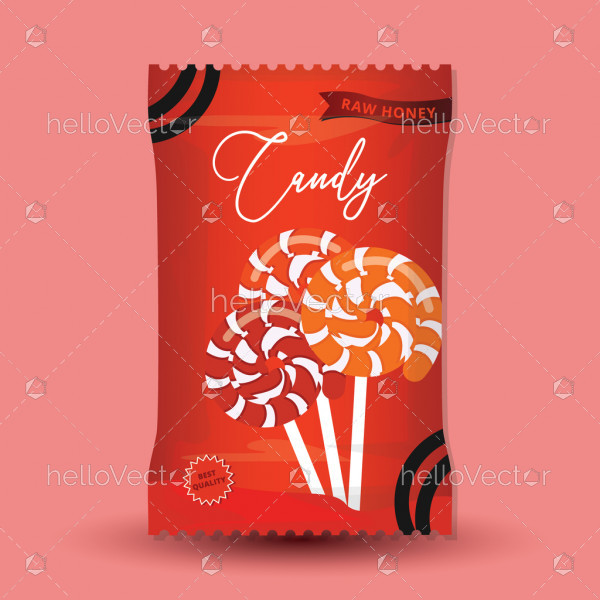 Candy Packaging Template