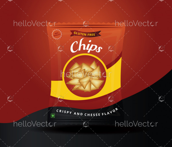 Chips Package Design - Vector