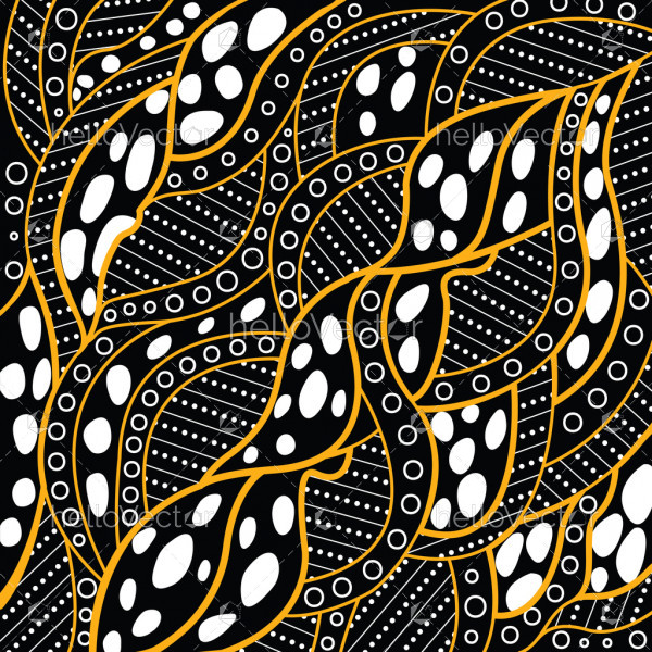 Illustration based on aboriginal style of vector background.
